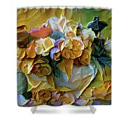 Bold Bouquet Shower Curtain