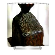 Bold Head Shower Curtain