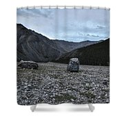 Boulder Canyon Shower Curtain