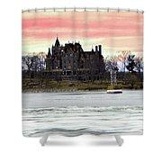Boldt Castle 12  Shower Curtain