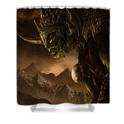 Bolg The Goblin King Shower Curtain