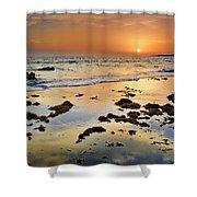 Bolonia Beach II Shower Curtain