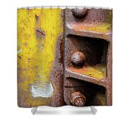 Bolted Iron Shower Curtain