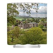 Bolton Abbey In Spring Shower Curtain