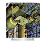 Bomb Carriage Wwii  Shower Curtain