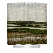 Bombay Hook Shower Curtain