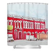 Bombay Samachar  Shower Curtain
