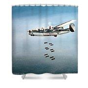 Bombs Away Shower Curtain