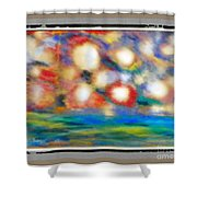 Bombs Early Light Shower Curtain