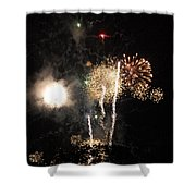 Bombs1 Shower Curtain