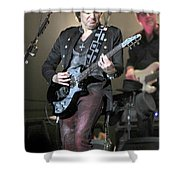 Bon Jovi Guitarist Richie Samboro Shower Curtain