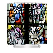 Bon Secours 3 Shower Curtain