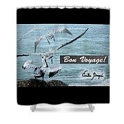 Bon Voyage Shower Curtain