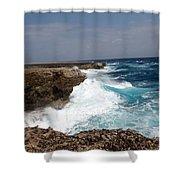 Bonaire North Shore 2 Shower Curtain