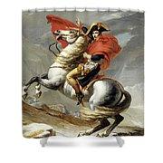 Bonaparte Crossing The Alps Shower Curtain