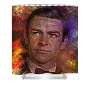 Bond - James Bond Shower Curtain