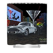 Bond Shower Curtain