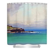 Bondi Beach Colours Shower Curtain