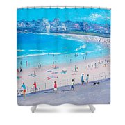 Bondi Beach Summer Shower Curtain