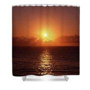 Bondi Beach Sunrise Shower Curtain