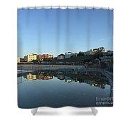 Bondi Wading Pool Reflections Shower Curtain