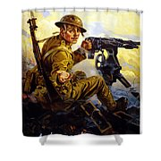 Ammunition  - Bonds Buy Bullets Shower Curtain