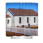 Bonds Chapel 1883 Shower Curtain