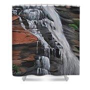 Bone Creek Falls Shower Curtain