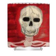 Bones Shower Curtain