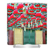 Bongeusa Temple In Seoul Shower Curtain