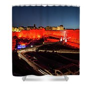 Bonifacio Fortress At Night Shower Curtain