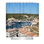 Bonifacio Harbor Shower Curtain