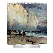 Bonington, Cliff, 1828 Shower Curtain