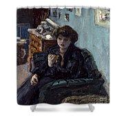 Bonnard: Lady, 19th C Shower Curtain
