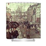 Bonnard: Place Clichy, C1895 Shower Curtain