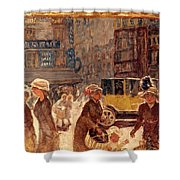 Bonnard: Place Clichy Shower Curtain