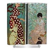 Bonnard: Women, 1891 Shower Curtain