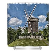 Bonne Chiere Windmill Shower Curtain