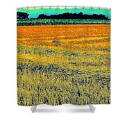 Bonneuil Harvest Shower Curtain