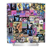 Bonnie Raitt On Frets Plus Surprises Shower Curtain