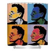 Bono Pop Panels Shower Curtain