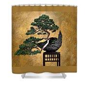 Bonsai 3 Shower Curtain