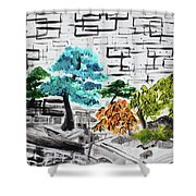 Bonsai And Penjing Museum 3 201733 Shower Curtain