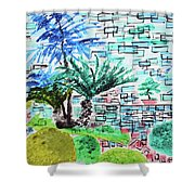 Bonsai And Penjing Museum 4 201734 Shower Curtain