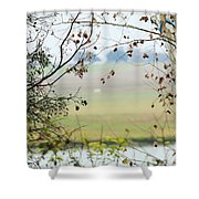 Boo  002 Shower Curtain