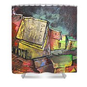Book City Shower Curtain
