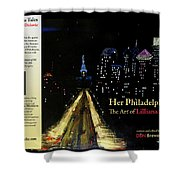 Book Cover Shower Curtain
