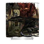 Book Of Fantasies 02 Shower Curtain
