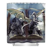 Book Of Fantasies Shower Curtain