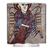 Book Of Kells: St. Matthew Shower Curtain